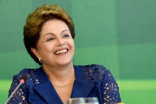 Dilma Rousseff, durante un acto reciente.