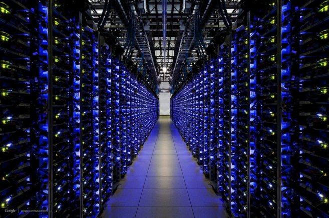 Centro de servidores de Google.