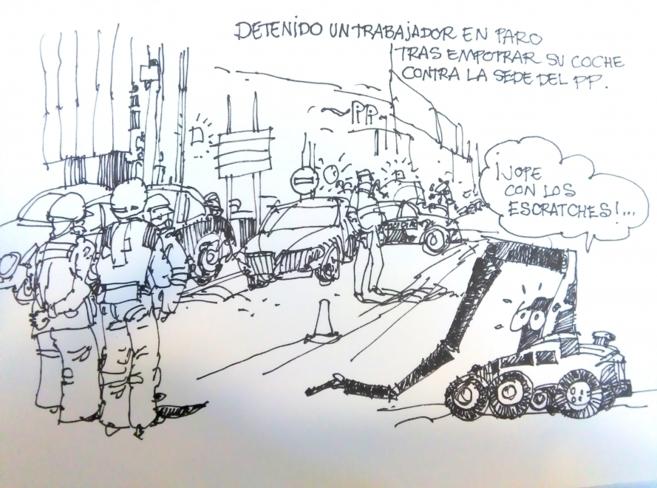 Uno de los dibujos recogidos en Dibunews'.