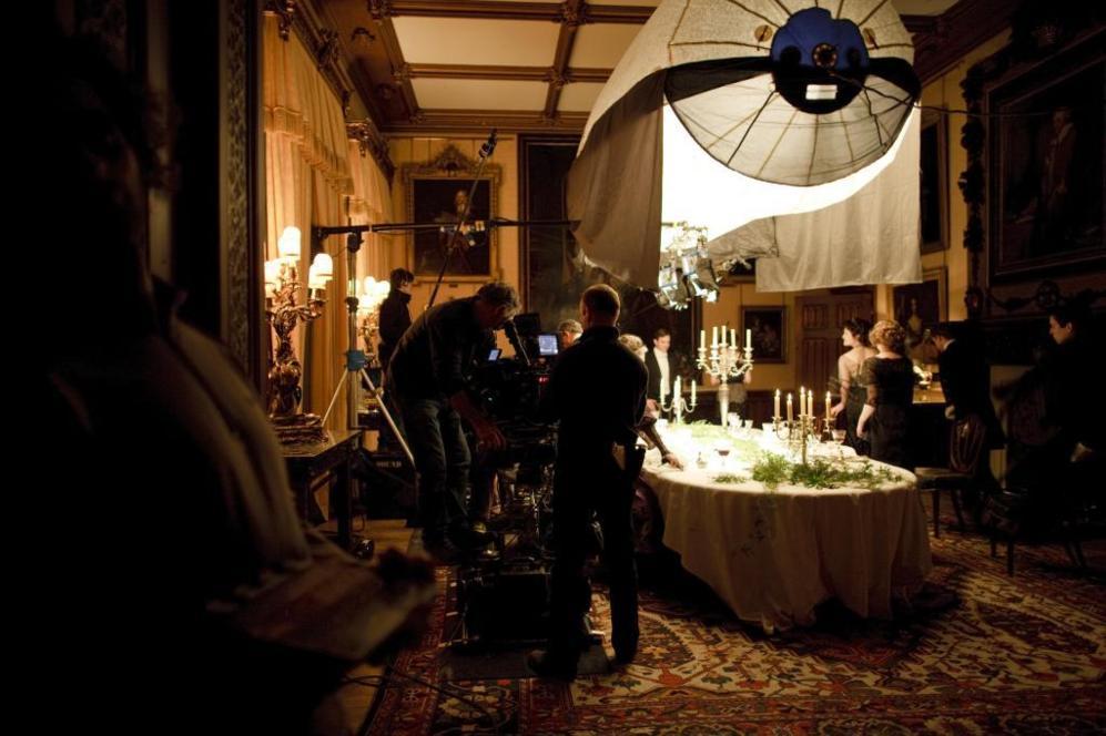 Rodaje de un capítulo de 'Downton Abbey', cuyo capítulo de...