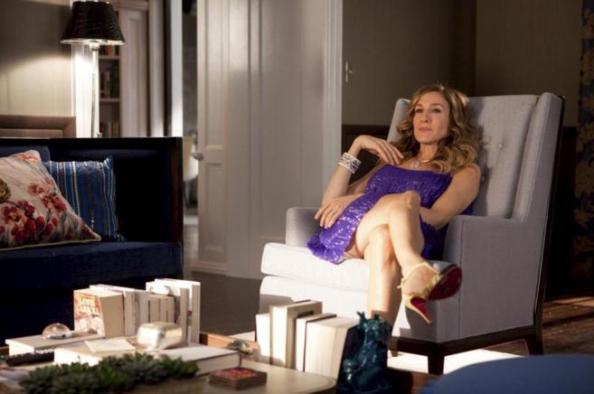 La actriz, en la película 'Sexo en Nueva York.