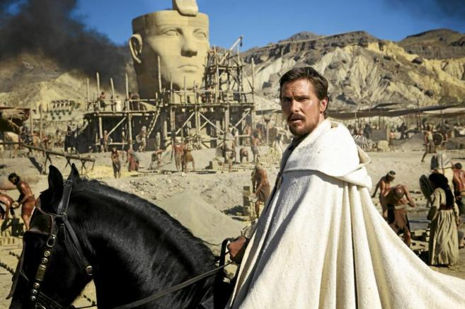 Fotograma de la película de Ridley Scott  'Exodus: dioses y...