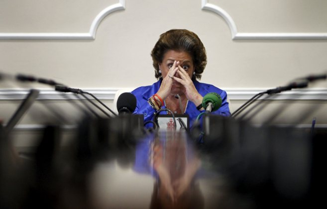 La alcaldesa de Valencia y diputada del PP Rita Barberá.