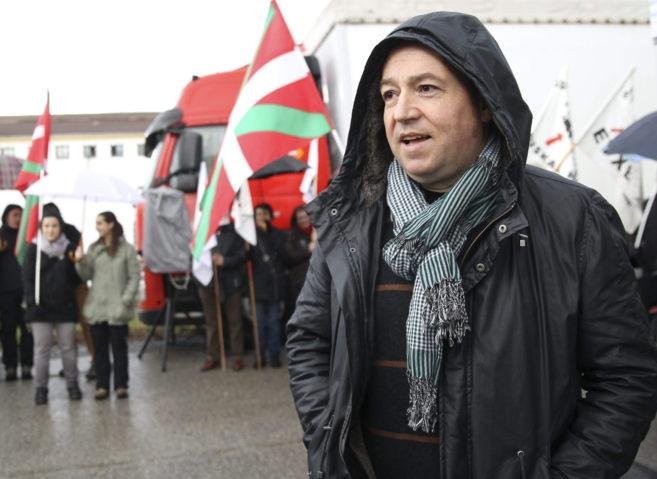 El líder de la izquierda abertzale, Pernando Barrena.