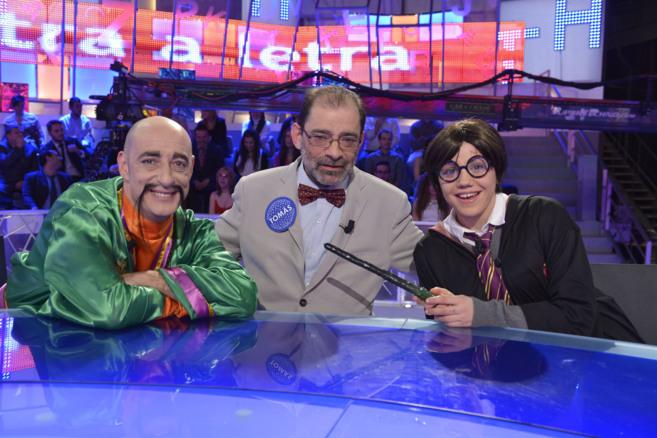 El concursante, entre Felix Álvarez 'Felisuco' y Angy...