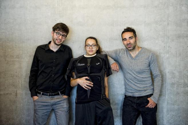 Roger Antunez, Angeliki Terezaki y Jose Ildefonso de la empresa First...