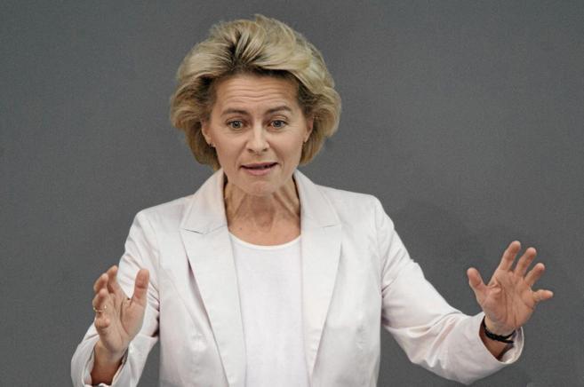 La ministra de Defensa de Alemania, Ursula von der Leyen.