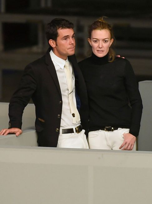 La pareja, el pasado noviembre en un concurso hípico.