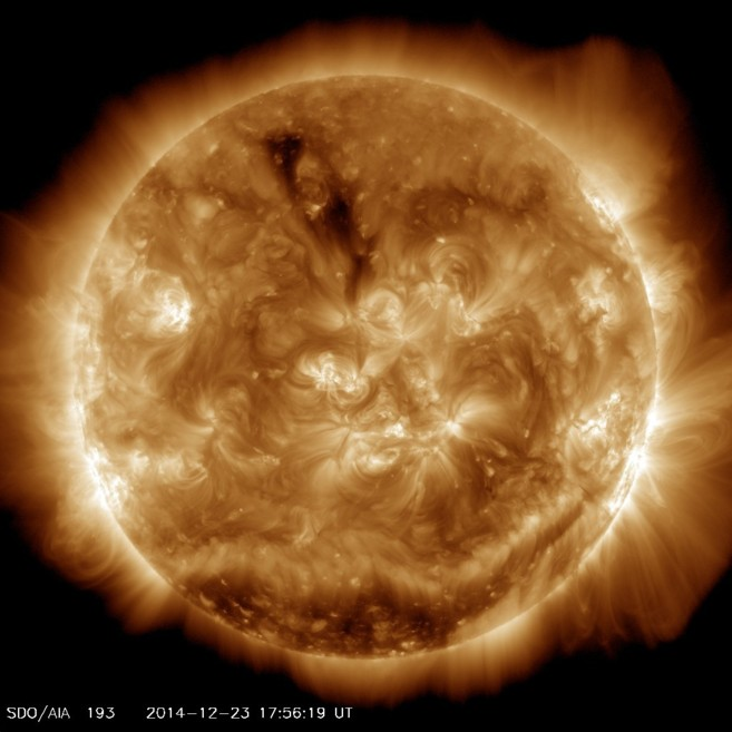Imagen captada por la sonda espacial 'Solar Dynamics...