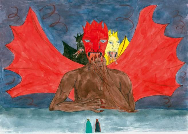 Ilustración realizada para la adaptación de la Divina Comedia de...