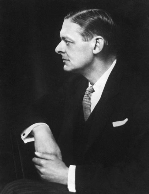 El escritor británico T.S. Eliot.