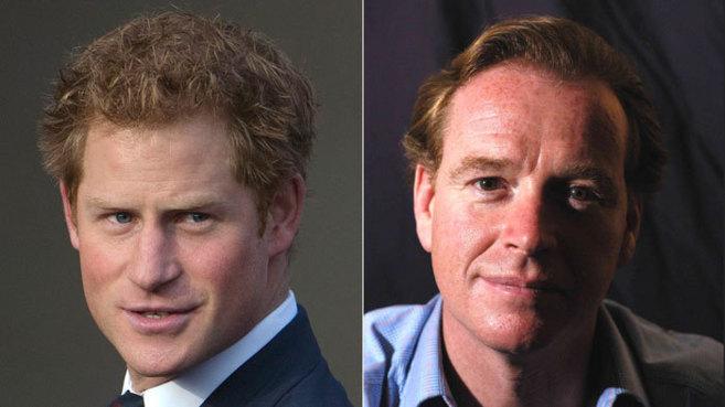 Viendo las imágenes de Harry (izda.) y James Hewitt (izda.) el...