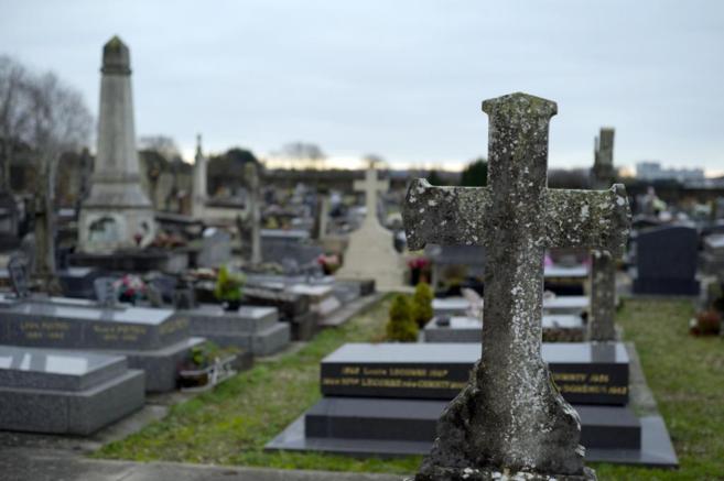 Cementerio francés de Champlan.