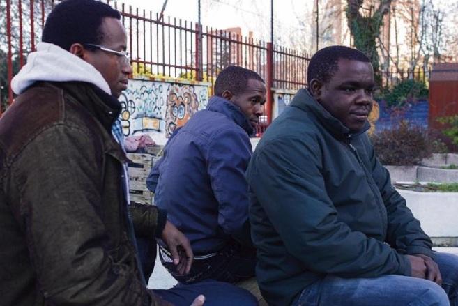 Karim, Sandio y Mamadou, los 'baltasares' de la cabalgata de...
