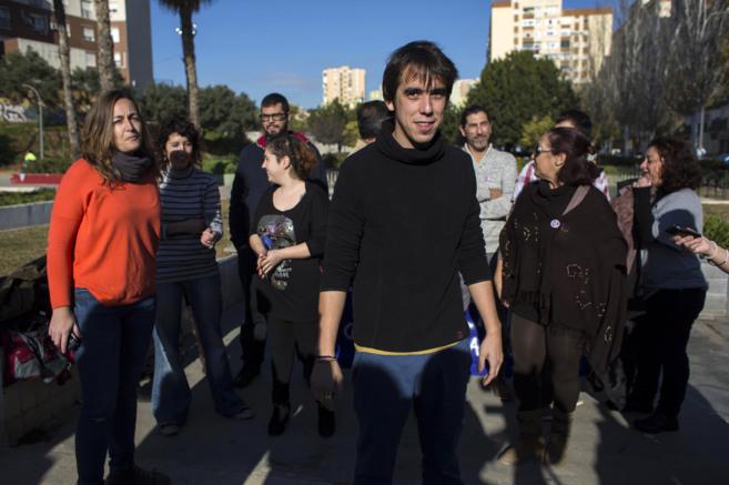 José Antonio Vargas junto a miembros del consejo ciudadano de...