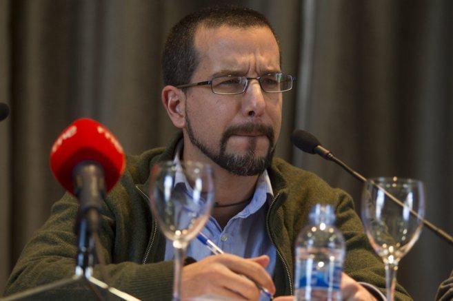 El secretario de Organización de Podemos, Sergio Pascual, en una...
