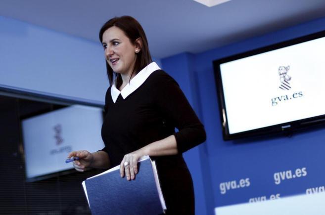 La consellera de Educación, María José Català.