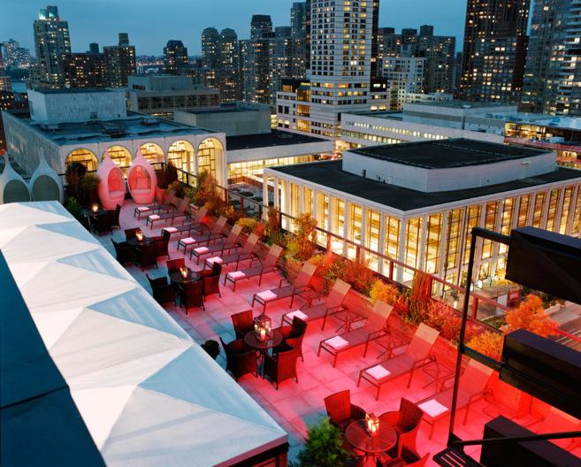 Azotea del Empire Hotel de Nueva York, donde se celebrará el...