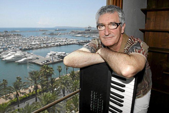 El compositor Luis Ivars, en Alicante, en una imagen de archivo.