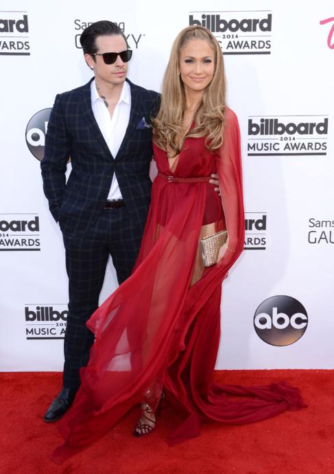 La pareja, el pasado mayo en los premios Billboard.
