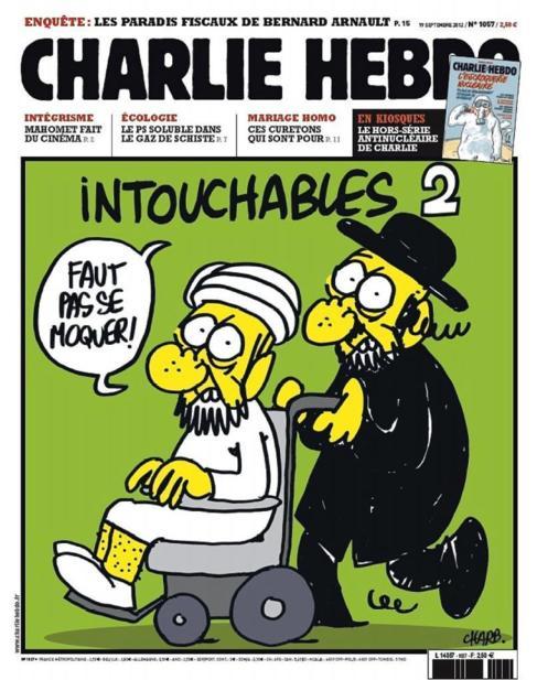 Una de las portadas más críticas de 'Charlie Hebdo'