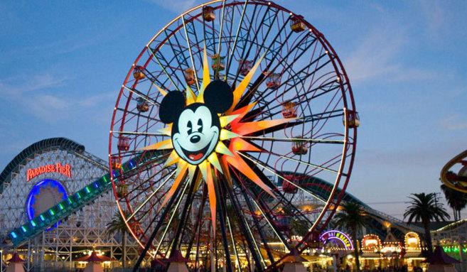 Una de las atracciones de Disney California Adventure.