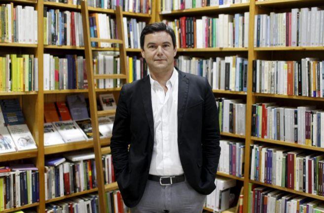 Thomas Piketty, durante la entrevista concedida a EL MUNDO.