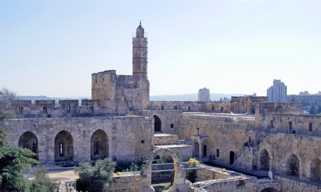 Torre de David, Ciudad Vieja de Jerusalén.