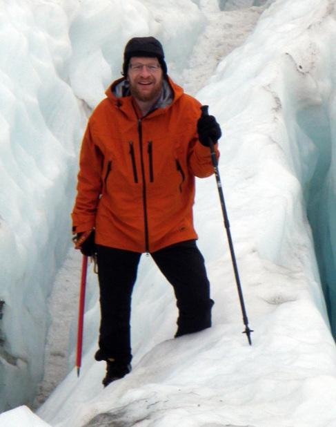 Richard Alley, durante una de sus expediciones.