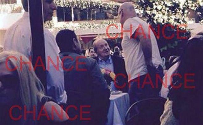 El Rey emérito fue fotografiado el 29 de diciembre en el restaurante...