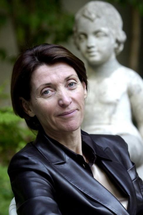 Marina Picasso en su mansión de Ginebra