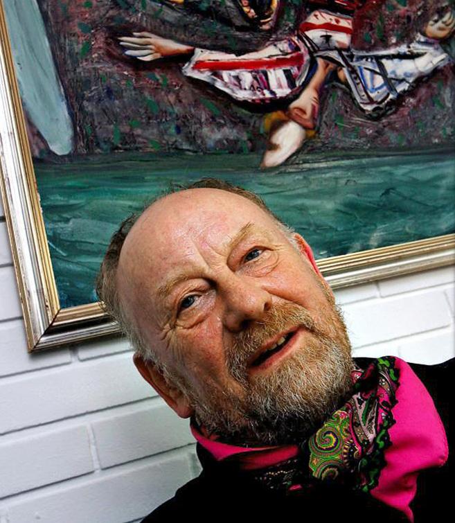"""El viñetista Kurt Westergaard, de 79 años, figura en una """"lista..."""