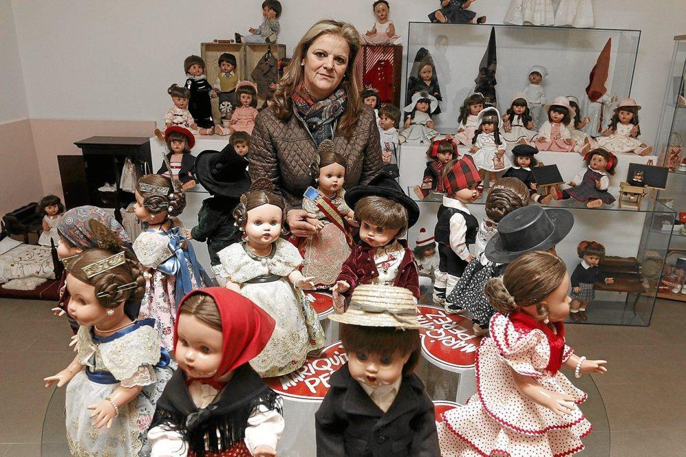 La colección de Fabiola Juan, que incluye casi 2.000 figuras, se...
