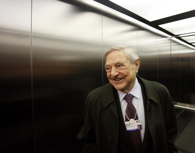 El magnate George Soros, en el Foro de Davos de 2013.