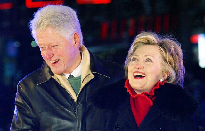 El matrimonio Clinton, en una imagen de archivo.