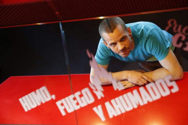 El cocinero David Muñoz, en la barra del StreetXO que ha estrenado el...