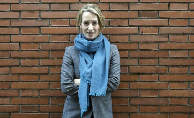 La escritora Milena Busquets antes de la presentación de su novela...