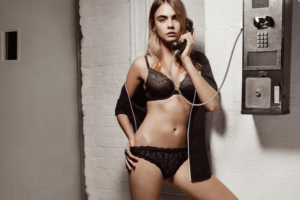 El Desnudo Más Sofisticado De Cara Delevingne La Firma Neoyorquina