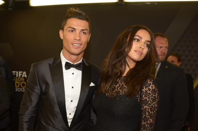 Irina sí había acompañado el año pasado a Cristiano en la entrega...