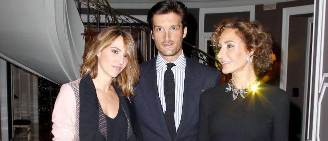 Laura Vecino, Rafa Medina y Naty Abascal.