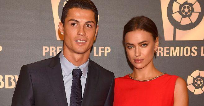 Cristiano Ronaldo e Irina Shayk, en una imagen reciente.