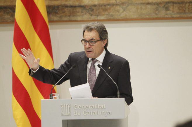El 'president' de la Generalitat, Artur Mas.