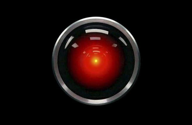 El robot HAL en '2001: Una Odisea del espacio', de Kubrick,...