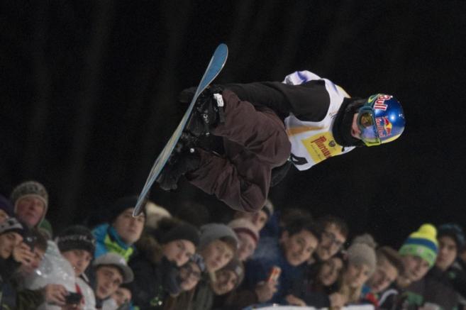 Queralt Castellet, en acción durante la final.