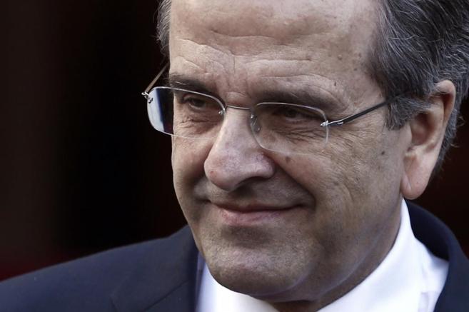 El primer ministro Antoni Samaras.