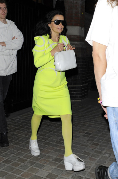 La cantante islandesa Björk, en una visita a Londres.