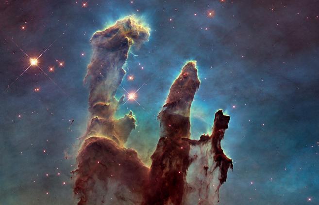 Los 'pilares de la creación' (Messier 16).