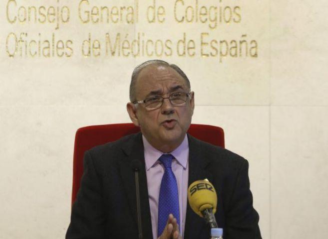 El presidente de la OMC, en rueda de prensa.