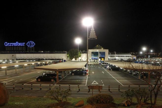 El centro comercial Carrefour de Alcobendas.