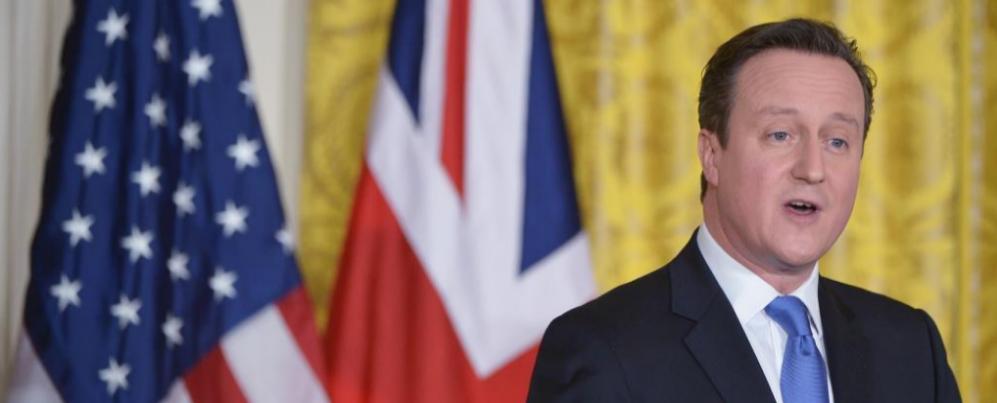 Imagen del primer ministro británico, David Cameron, el pasado 16 de...